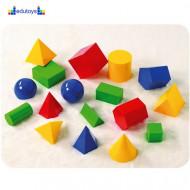 Geometrijska tela PVC 17 elemenata