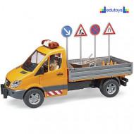 Kamion za radove na putu
