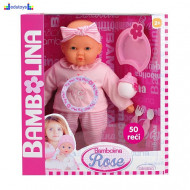 Lutka BAMBOLINA priča 50 reči 38 cm