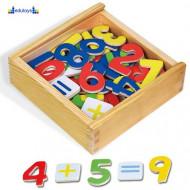 Magnetni drveni brojevi 37 figura