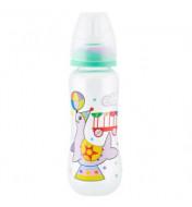 "Plastična flašica SUPER CLEAR ""CIRCUS"" 250 ml (foka) silikonska cucla"