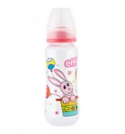 "Plastična flašica SUPER CLEAR ""CIRCUS"" (zeka)  250 ml silikonska cucla"