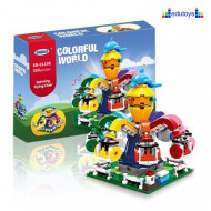 Kocke COLORFUL WORLD 350 delova