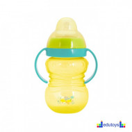 Šolja FUN IN THE PARK sa silikonskim piskom 275 ml žuta