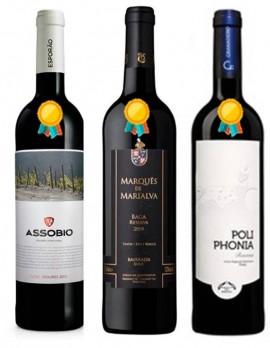 Imagens Destaque da Semana (3 Vinhos Premiados)