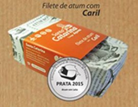 Filetes de Atum com Caril Santa Catarina Açores 120g