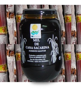 Sugarcane Honey-Syrup from Madeira 450g (2 jars) images
