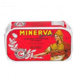 Imagens Sardinhas Minerva em Tomate 120g