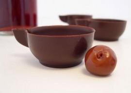 Ginjinha de Óbidos Licóbidos 6 copos Chocolate