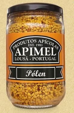 Imagens Pólen Apimel - Conjunto de 12 frascos de 240g (10.3€/uni)