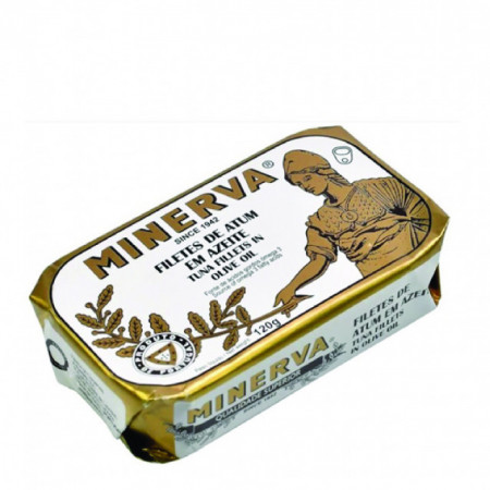 Tuna Fillets Minerva in Olive Oil 120g