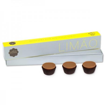 Arcádia Chocolates com sabor a LIMÃO (8 uni.)