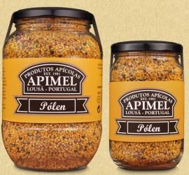 Pólen Apimel - Conjunto de 12 frascos de 240g (10.3€/uni)