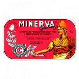 Imagens Sardinhas Minerva sem Pele sem Espinhas em Tomate 120g