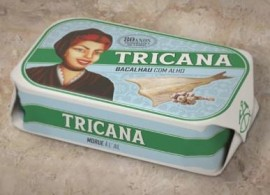 Tricana Garlic Codfish 120g (5 cans)