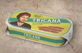 Imagens Anchova Filete em Azeite Tricana 56g (5 conservas)