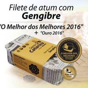Imagens Filetes de Atum com Gengibre Sta Catarina Açores 120g