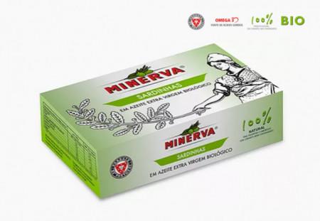 Minerva Sardinhas em Azeite EV Biológico 120g