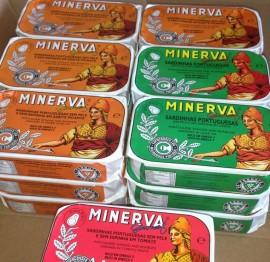 Imagens Minerva Sardinhas - 6 conservas