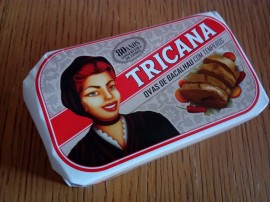 Tricana Codfish Eggs/Roes with Spices 120g (3 cans) images