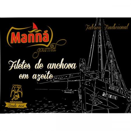 Filetes de Anchova Manná 50g (4 uni)