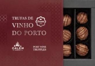 Arcádia Trufas de Chocolate com Vinho do Porto (9 uni.)