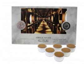 Imagens Chocolates com Recheio de Aguardente Velha Arcádia (32 uni.)