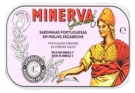 Imagens Sardinhas em Escabeche Minerva 120g