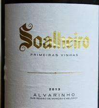 Alvarinho Vinho Verde Soalheiro Primeiras Vinhas 0,75l
