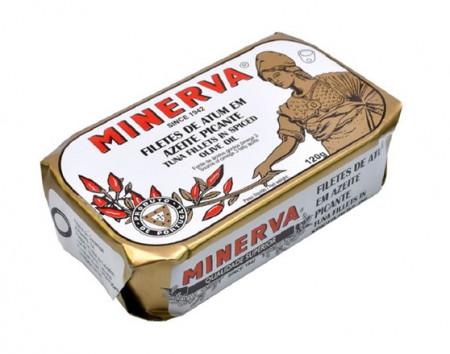 Atum em Filetes e Azeite Picante Minerva 120g