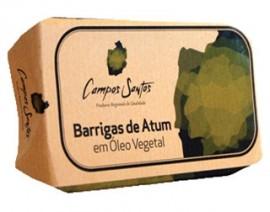 Imagens Barrigas de Atum Ventresca em Oleo Vegetal Campos Santos 120g