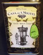 Extra Virgin Organic Olive Oil Casa de São Miguel 0,5l