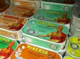 Minerva Organic Mackerel Fillets in EV Olive Oil 120g