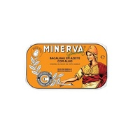 Codfish in Olive Oil and Garlic Minerva 120g