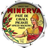Pate de Cavala Picante Minerva 75g