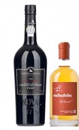 Porto Quinta do Noval LBV 2005/7 0,75cl + Malhadinha Late Harvest 0,375cl