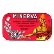 Sardinhas Minerva sem Pele sem Espinhas em Tomate 120g
