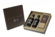 Arcádia Caixa com Garrafas Vinho Porto Kopke + 1 Caixa de Chocolates Preto