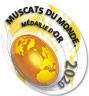 Moscatel ROXO Muscats du Monde 1º Gold Award 0,75l