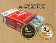Filetes de Atum com Pimenta da Terra Sta Catarina Açores 120g