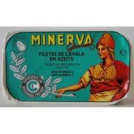Minerva Mackerel Fillets in Olive Oil 120g