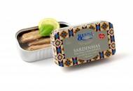 Briosa Sardinhas Sem Pele e Sem Espinhas em Azeite com Limão e Basilico 120g