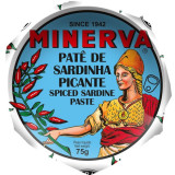 Minerva Spicy Sardine Paste 75g