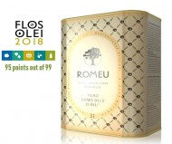 ROMEU Extra Virgin Organic Olive Oil PDO 3L