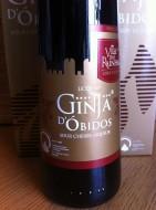 """Sour Cherry Liqueur """"Ginjinha"""" Frutóbidos """"with ginjas"""", from Óbidos 0.70l"""