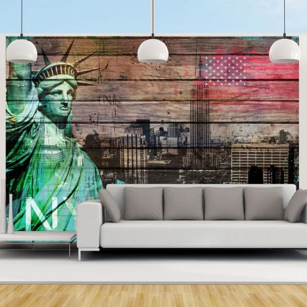 Fototapet - NYC symbols
