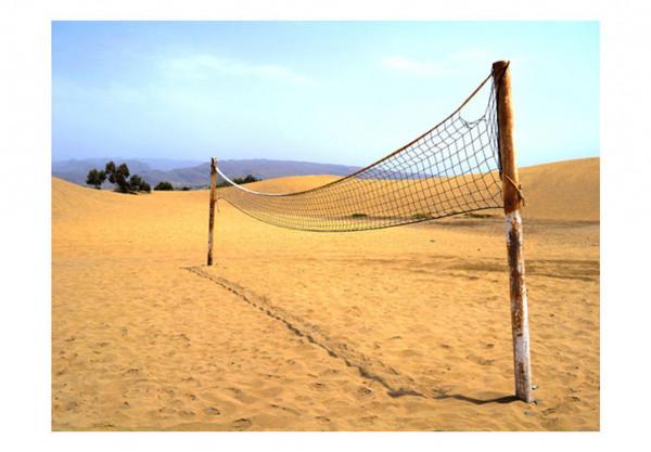 Fototapet - Sand volleyball pitch
