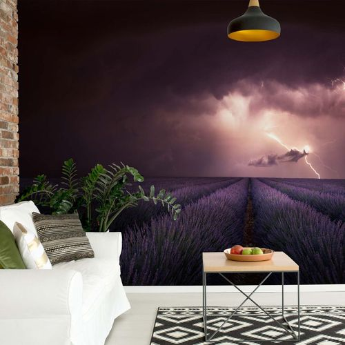 Lavender Fragrance Photo Wallpaper Mural