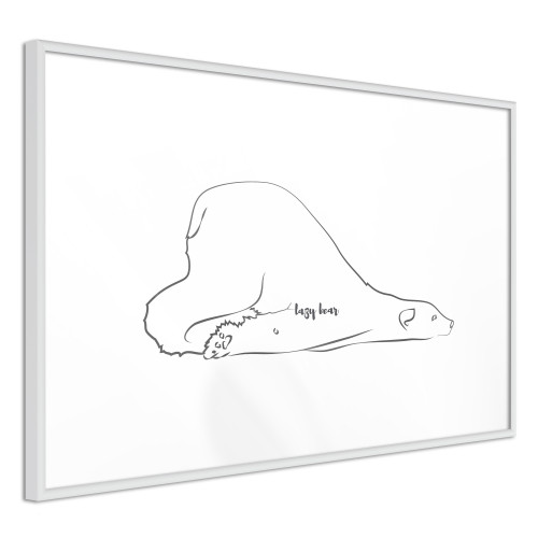 Poster - Resting Polar Bear
