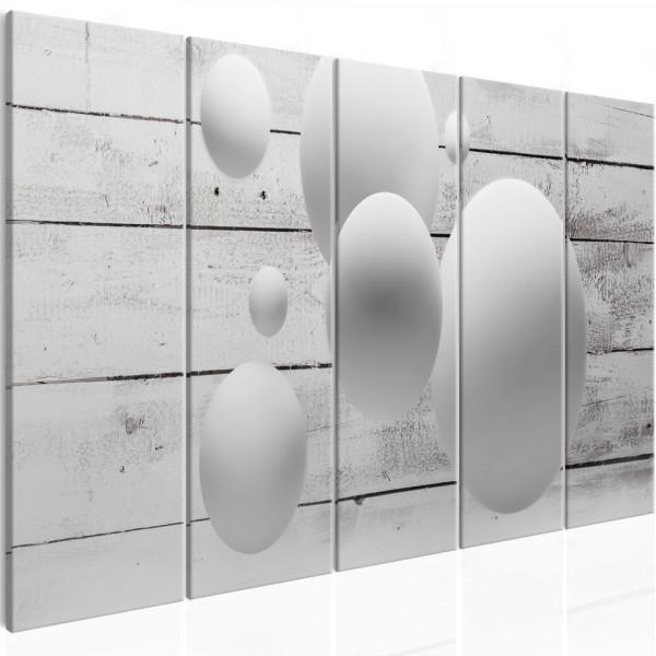 Tablou - Balls and Boards (5 Parts) Narrow